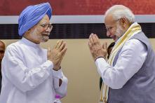 PM Modi, Manmohan Singh Unveil Book on Venkaiah Naidu's First Year as Vice President