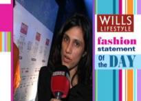 Fashion statement of the day: Rina Dhaka