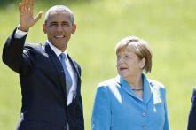 Obama, Merkel discuss Syrian refugee crisis