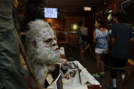 Man Opens Museum Devoted to 'Bigfoot', Says the Creature is a Product of Government Experiments