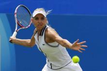 Vesnina upsets Ivanovic in Wimbledon warm-up