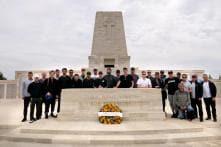 In Pics, Australian Cricket Team Visit WW1 Battlegrounds