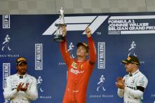 Ferrari's Charles Leclerc Wins Belgian GP, Lewis Hamilton Finishes Second