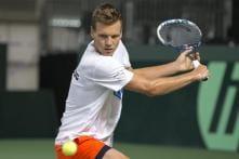 Czech beat Swiss in longest-ever Davis Cup match