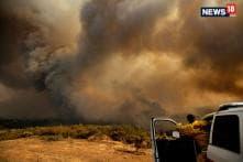 Blaze Rips Through California