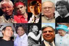 Top 10: World's most respected celebrities