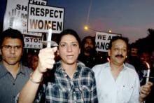 Delhi gangrape protests: Priya Dutt, Adhuna Akhtar, Jackky Bhagnani lead the march