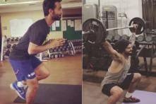 Ajinkya Rahane Follows Skipper Virat Kohli to the Gym