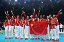Rio Olympics 2016: China Wins Third Women's Volleyball Gold