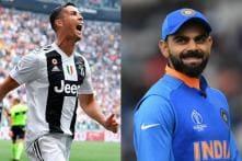 Ronaldo Has Had a Greater Career Than Messi: Virat Kohli
