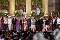 Pictures From Narendra Modi's Swearing-in Ceremony at Rashtrapati Bhavan
