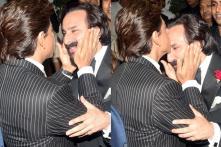 PICS: Shah Rukh Khan - Saif Ali Khan Bonhomie Delight Fans