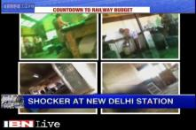Kitchen doubles up as toilet at New Delhi Railway station