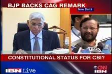 BJP backs CAG on constitutional status for CBI, CVC