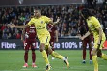 Kylian Mbappe Nets Debut Goal for Paris St. Germain