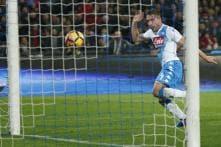 Serie A: Napoli Seal 2-0 Win Over Genoa