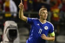 Edin Dzeko Takes Bosnia Home as Northern Ireland Crash Again