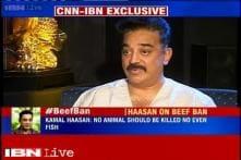 Being vegetarian a personal choice: Kamal Haasan on beef ban