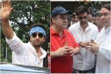 Ranbir Kapoor, Rishi Kapoor and Family Celebrate Last Ganpati Visarjan at RK Studios; See Pics