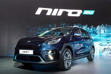 Kia Niro All-Electric Crossover Unveiled at Busan Motor Show