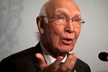 Pakistan's Sartaj Aziz Says World Doesn't Accept India's Opinion on Kashmir