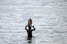 Delhi: 2 drown, 7 feared dead during Ganesha idol immersion in Yamuna