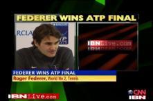 Federer beats Nadal to win ATP World Tour Finals