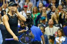 US Open: Maria Sharapova Gets Down to Business