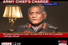 Gen VK Singh's bribe claim stirs a hornet's nest