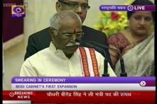 Bandaru Dattatreya - Lone Telangana face in Modi Ministry