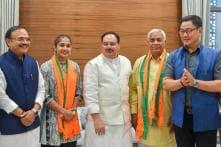 Sports Stars Babita Phogat, Yogeshwar Dutt Among 78 to Fight Polls on BJP Ticket; Khattar Gets Karnal Again