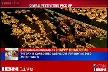 Sensex likely to rise on Dhanteras