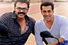 Venkatesh Daggubati wishes Salman Khan on his birthday; shares a photo on Facebook