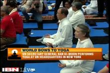 Yoga day a wonderful addition to the UN calendar, says Ban Ki-moon