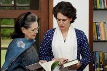 Sonia Gandhi Ends Retirement Rumours in Make or Break Polls For Rahul; No Word on Priyanka's Debut