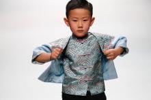 Cute Kids Walk The Ramp at China Fashion Week 2018