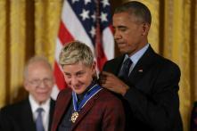 Ellen DeGeneres Pays Emotional Tribute To Barack Obama