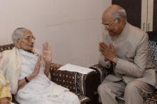 President Ram Nath Kovind Meets PM Modi's Mother in Gujarat
