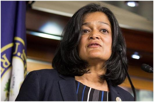 File Photo of Pramila Jayapal (Credit: Reuters)