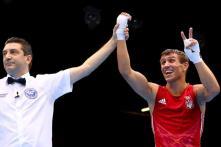 Lomachenko wins gold in Lightweight boxing