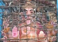 Tallest Ganesha idol made in Hyderabad
