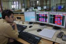 Fed minutes lift Sensex 390 points; BHEL up 8 pc, Infosys Q2 eyed