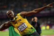 In pics: Olympics struck by Usain's thunderbolt