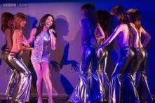 Conchita Wurst gets her burlesque on at Paris Crazy Horse