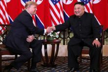 Mirror Image: Donald Trump, Kim Jong Un Mind Their Body Language With Handshake of Equals