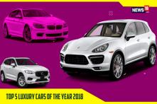 Top 5 Luxury Cars of the Year 2018