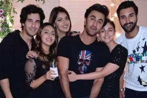Akansha Ranjan Kapoor's Birthday Bash: Ranbir Kapoor, Alia Bhatt Party Hard