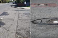 UK Graffiti Artist Drew D*cks on Potholes to Shame Authorities into Fixing Them