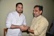 Tejashwi Claims Meeting with Kushwaha Was 'Coincidental'