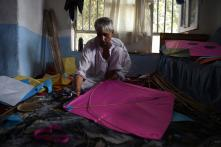 Soaring Production: Kabul Kite Makers Prepare for Flying Season